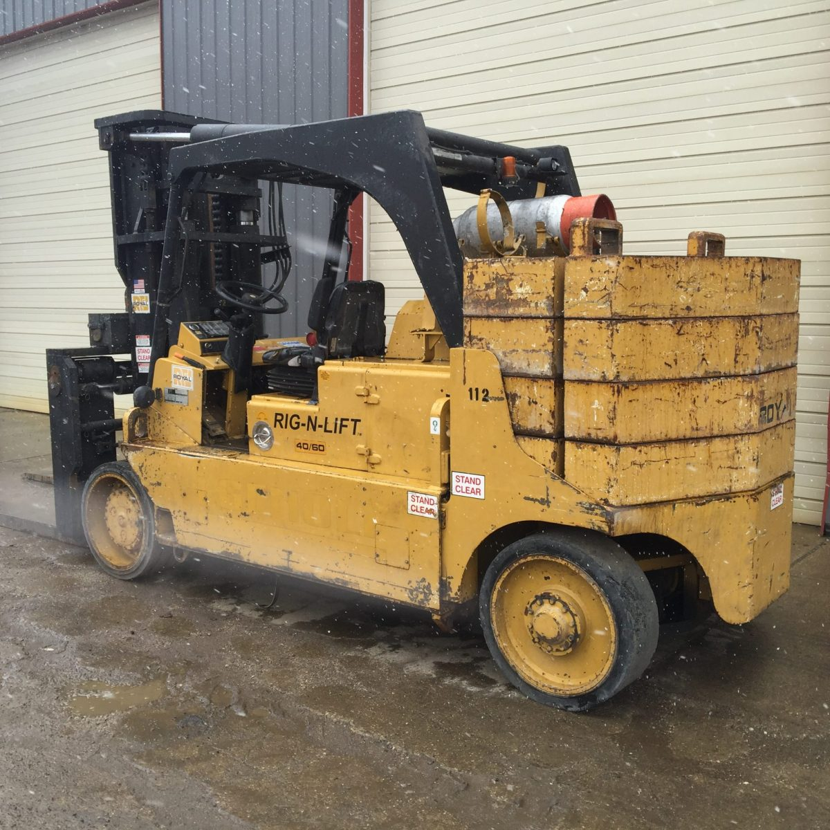 40 000lb To 60 000lb Royal Rig N Lift Forklift Like