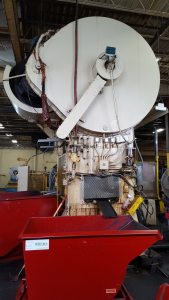 300 Ton Capacity Bliss Straight Side Press For Sale