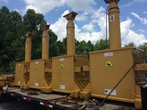 400 Ton Capacity Lift Systems 4-Point Hydraulic Gantry (1)