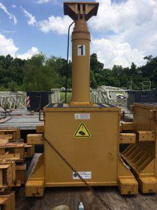 400 Ton Capacity Lift Systems 4-Point Hydraulic Gantry (3)
