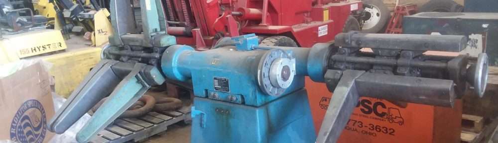 5,000lb. Capacity Cooper Weymouth Peterson Dual-End Reel For Sale