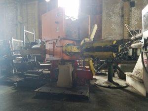4,000lb. Capacity American Steel Line Dual-End Reel For Sale