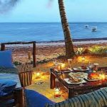 Sarova White Sands Beach Resort - beach breakfast