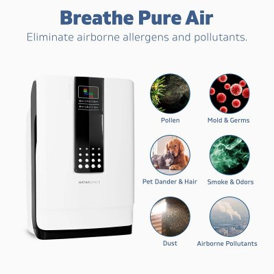 air purifier Features