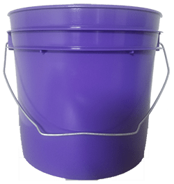1 gallon pail purple