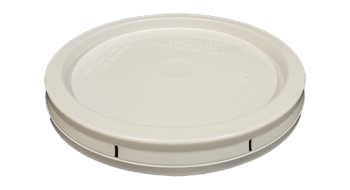 1 Gallon Lid White