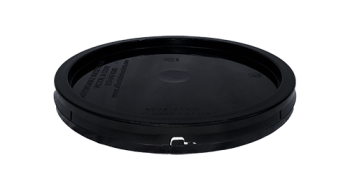 2 gallon lid black