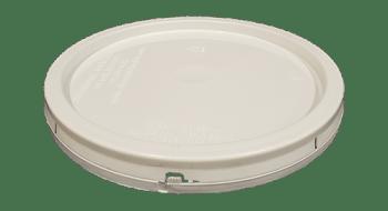 2 gallon lid white