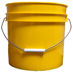 3.5 gallon pail yellow