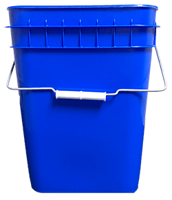 4 gallon container blue