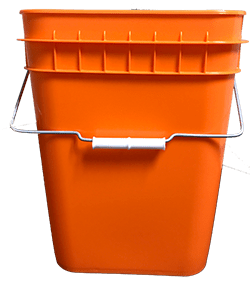 4 gallon container orange