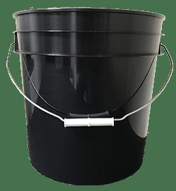 4.25 gallon pail black