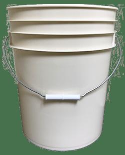 5 gallon pail beige