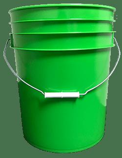 5 gallon pail light green