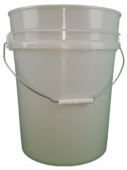5.25 gallon pail natural