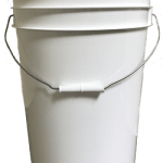 6 gallon pail white