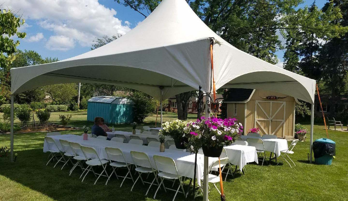 - Party Tent Rental + Wedding Tent Rental - Affordable Backyard Tents