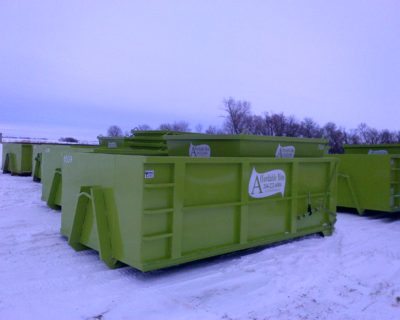 Dumpsters Winnipeg - Garbage Bin Rental