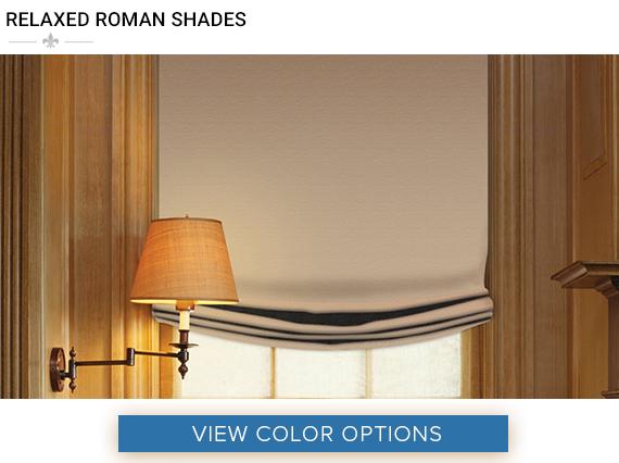 rod pocket roman shade for windows