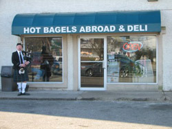 Hot Bagels Abroad, Hackettstown, NJ