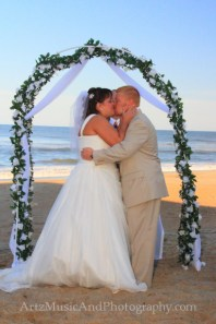 Kristin & Derrick - Outer Banks Weddings photo by ARTZ MUSIC & PHOTOGRAPHY / affordableOBXweddings.com.