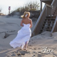 Outer Banks Wedding - 2014 OBX Bride (photo by Matt Artz for affordableOBXweddings.com)_0009