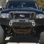 Ford Ranger White Bull Bar 2020 Ford Ranger Bullbar
