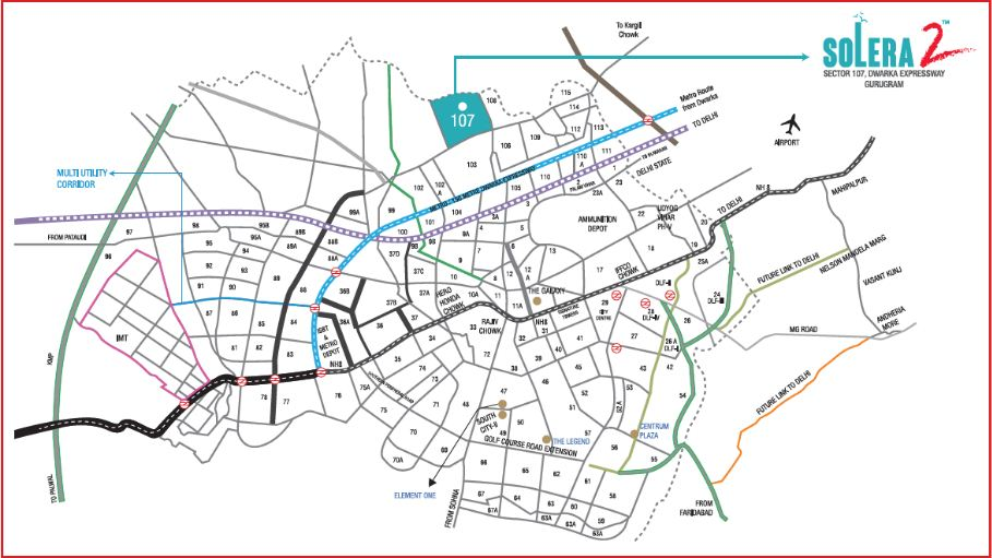 Solera Location Map