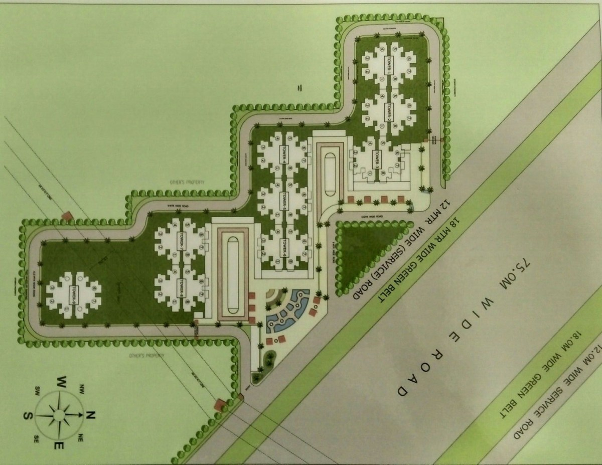 Pivotal Ridhi Sidhi Sector 99 Gurgaon Site Plan