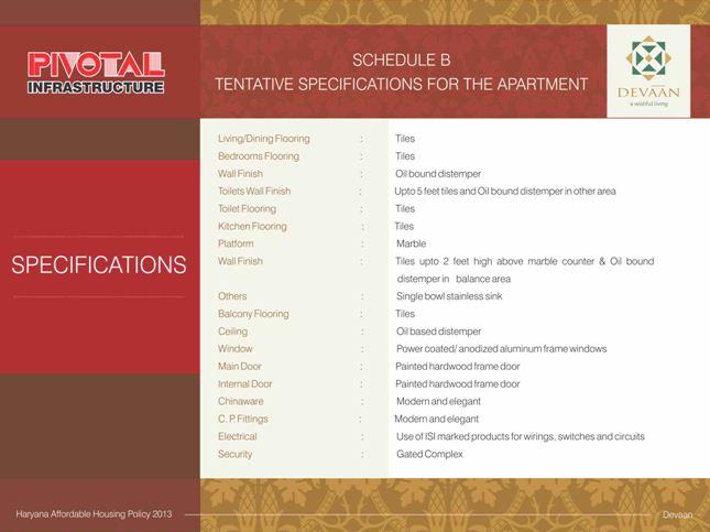 Pivotal Devaan Specification