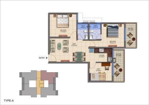 Roselia Type a Floor Plan