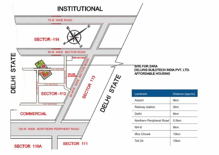 zara-rossa-location-map