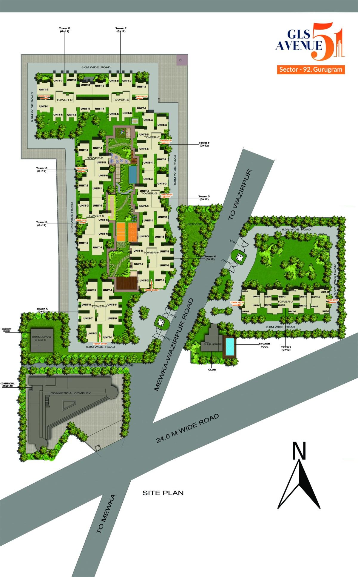 gls site plan