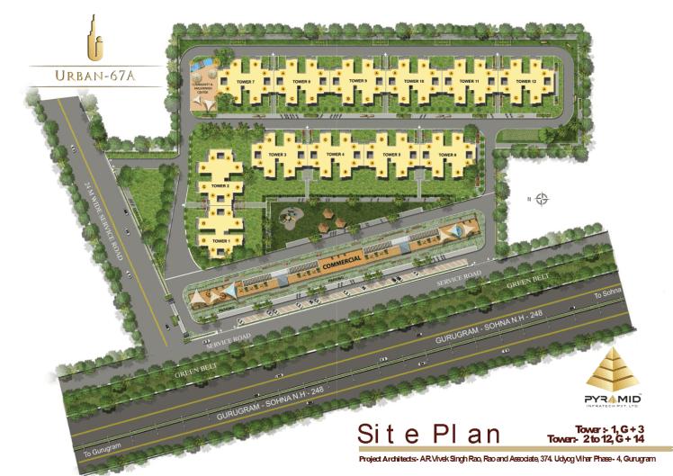Urban 67A Site Plan