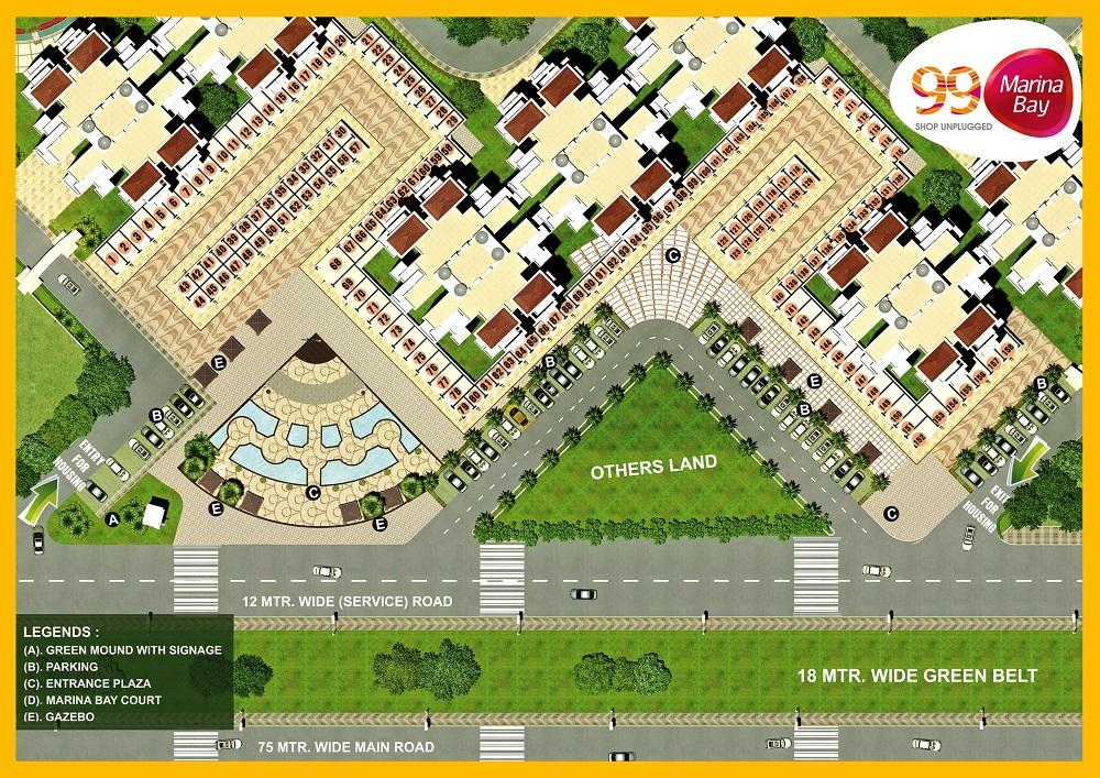 Pivotal 99 Marina Bay sitemap