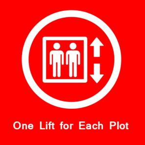 One Lift for Each Plot