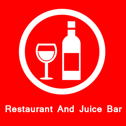 Restaurant and juice bar global park