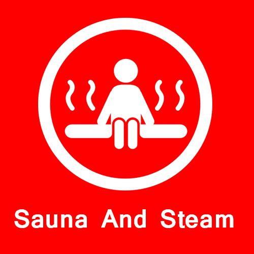 Sauna and steam in signature global park