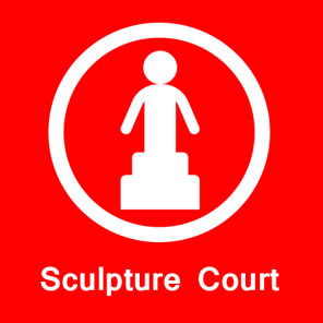Sculpture Court in global park
