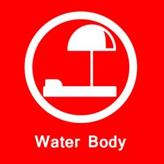 Water Body in premium project in sohna