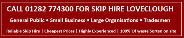 skip hire loveclough