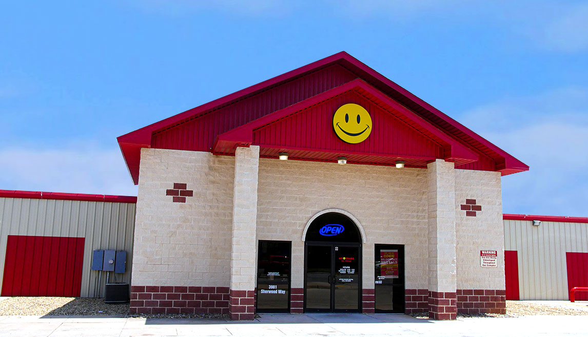 Affordable Storage San Angelo located on 3901 Sherwood Way
