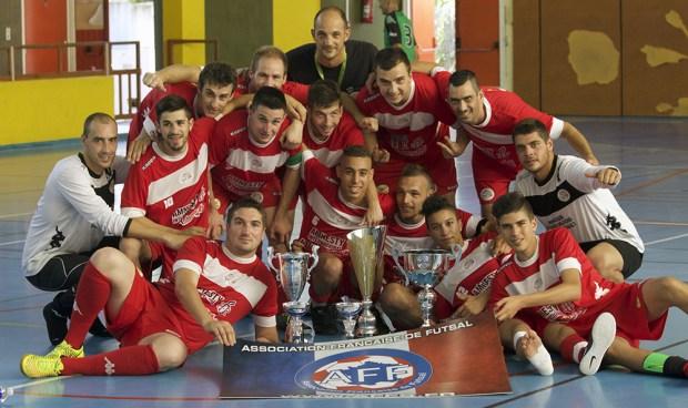 USR Futsal Champion de France de Futsal AMF 2015