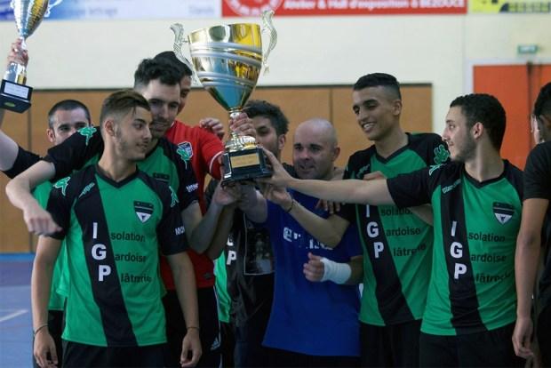 Vauvert Futsal tenant du titre 2015 !