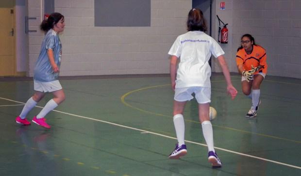 Première rencontre officielle de futsal féminin AFF entre Romorantin Futsal et Bracieux Futsal