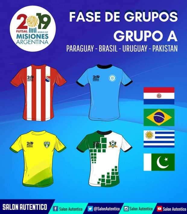 Groupe A Mondial AMF 2019