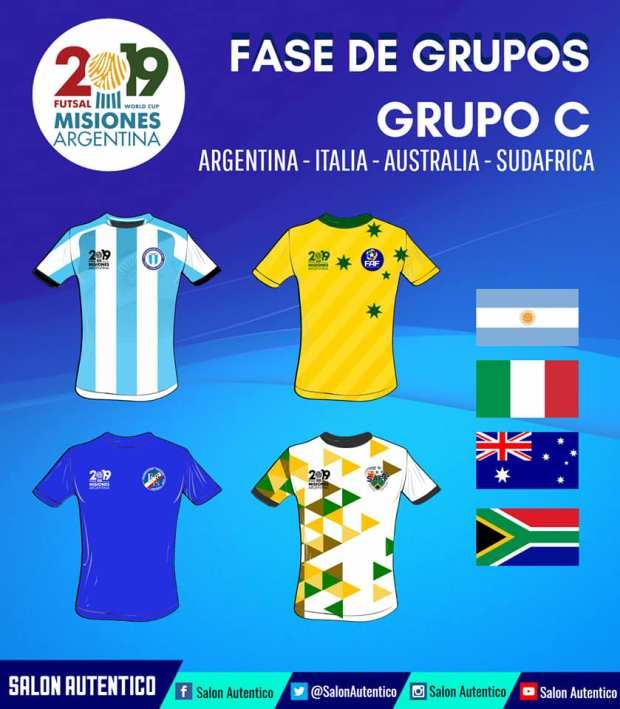 Groupe C Mondial AMF 2019
