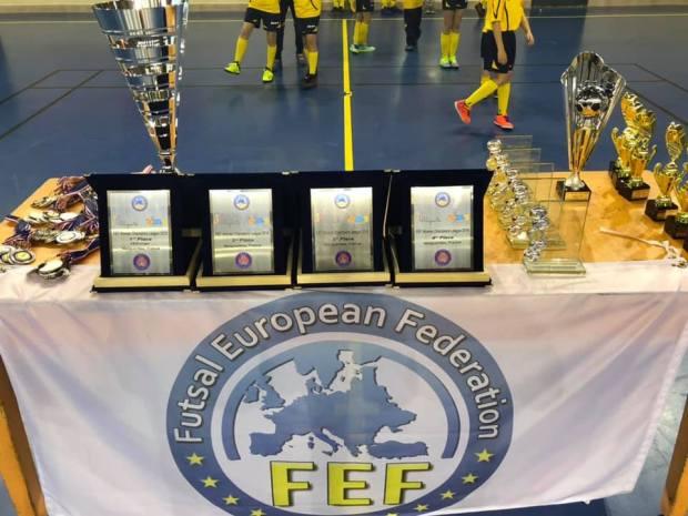 palmares fef women champions