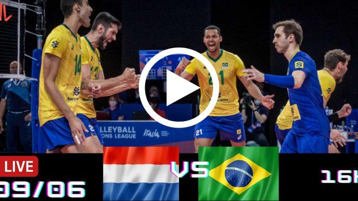 Jogo Gravado: Holanda vs Brasil – Liga das Nações – 09/06/2021
