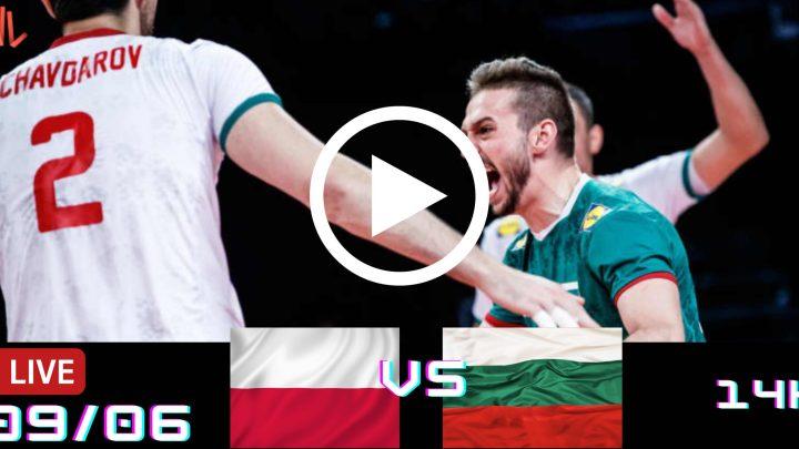 Resultado: Polônia 3 vs 0 Bulgária – Liga das Nações – 09/06/2021